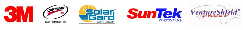 3M, ScotchGard, SolarGard, SunTek, VentureShield